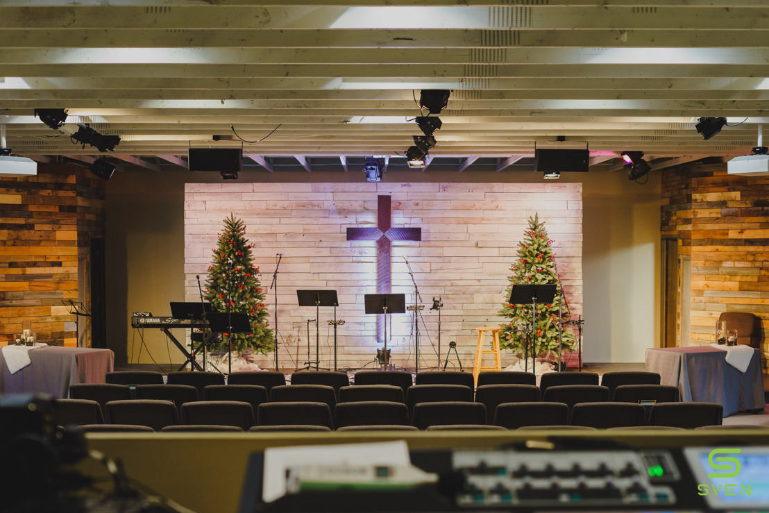 Sven Pro Empowers the Faithful at Madison's Vine Church with Powersoft Amplifiers and ArmoníaPlus