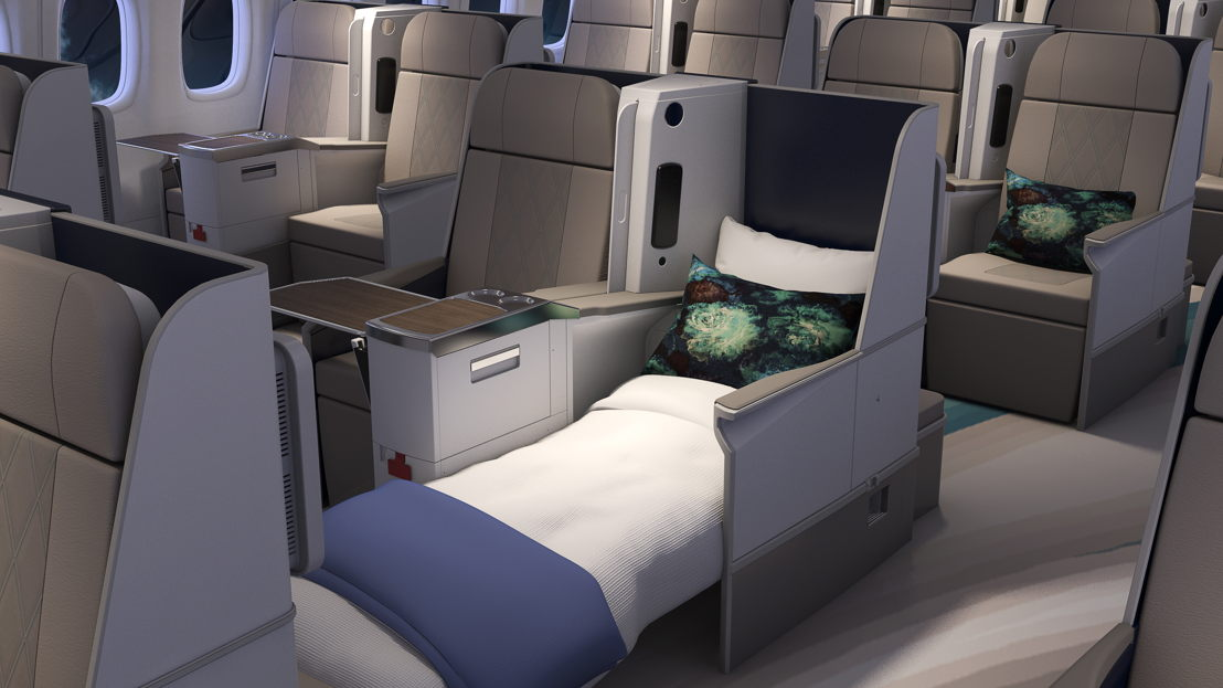 Crystal AirCruises Boeing 777 Exclusive Class Reclining Seats