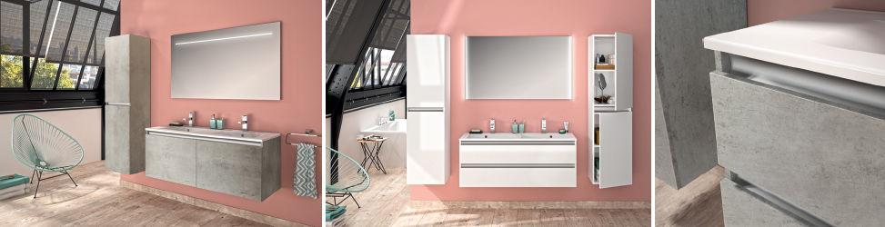 PESARO fait entrer le romantisme moderne dans votre salle de bains