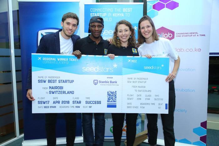 M-Shule Named most promising startup at Seedstars Nairobi