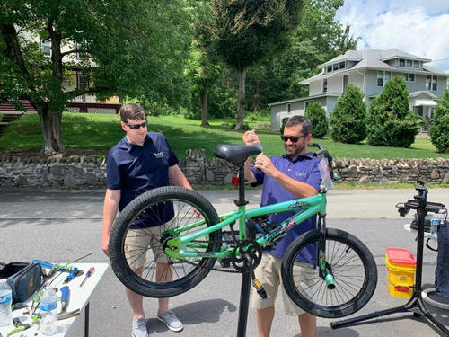 TEN Teams with Johnstown-Area Orgs for Bicycle Giveaway