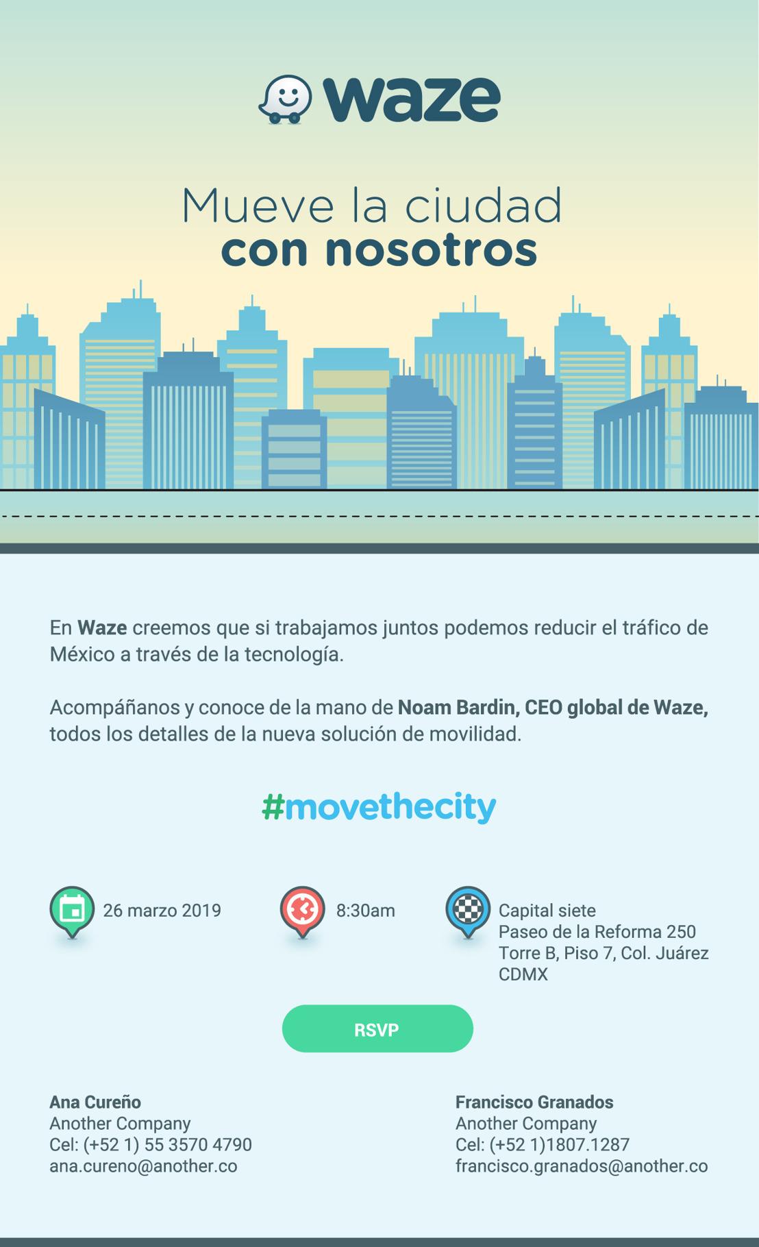 Mueve la ciudad con nosotros