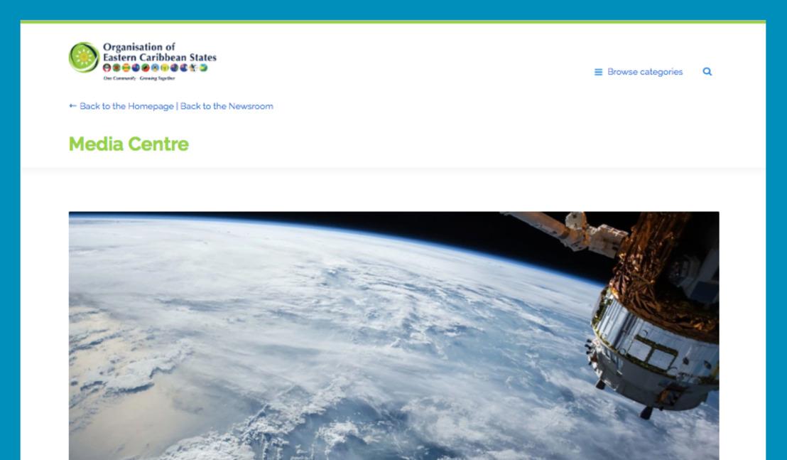OECS Online Newsroom in the Spotlight