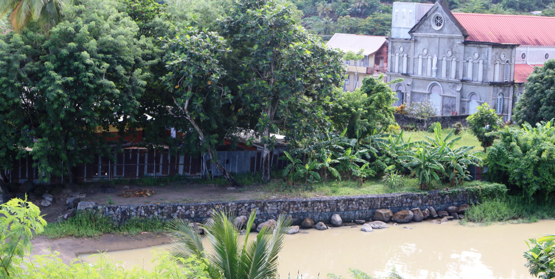 New Zealand to continue river bank stabilisation works in Anse La Raye Community, Saint Lucia