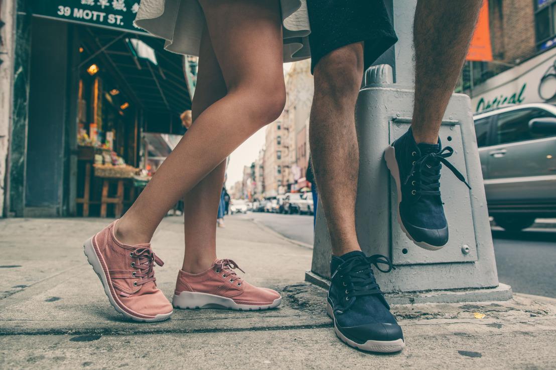 De la boot à la sneaker:  Palladium présente la Pallaville
