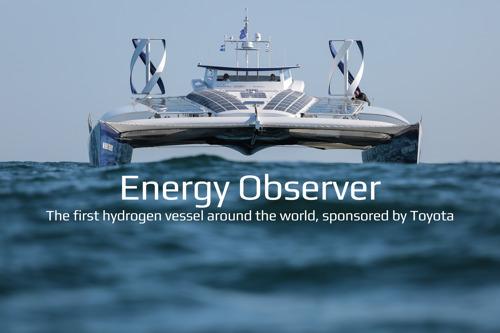 Toyota met le cap sur l'avenir avec Energy Observer