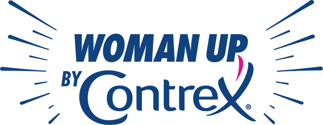 Logo Woman Up by Contrex