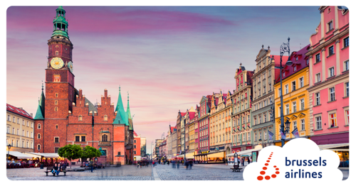 Brussels Airlines launches new destinations Kiev and Wroclaw