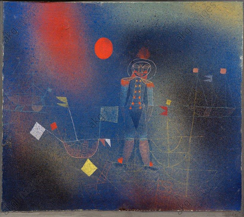 Paul Klee, Adventurer at Sea, 1927<br/>AKG224090