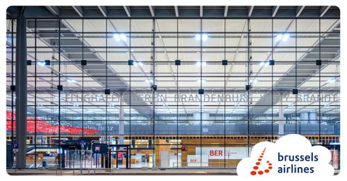 Brussels Airlines lands at Berlin Brandenburg Airport (BER)