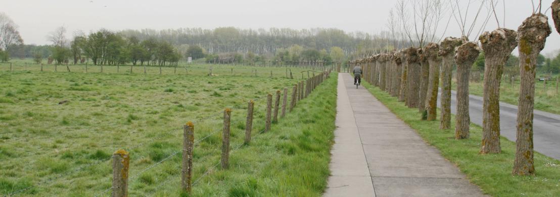 Omleiding voor bezoekers in de Zwinduinen en -polders