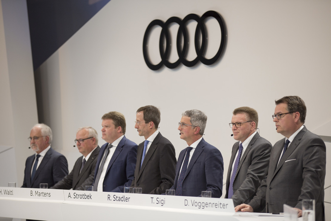Audi sets strategic path in challenging year 2016
