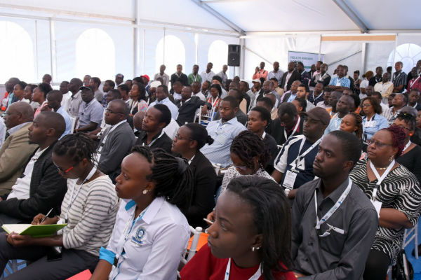Educational Seminar at the latest Big 5 event in Kenya