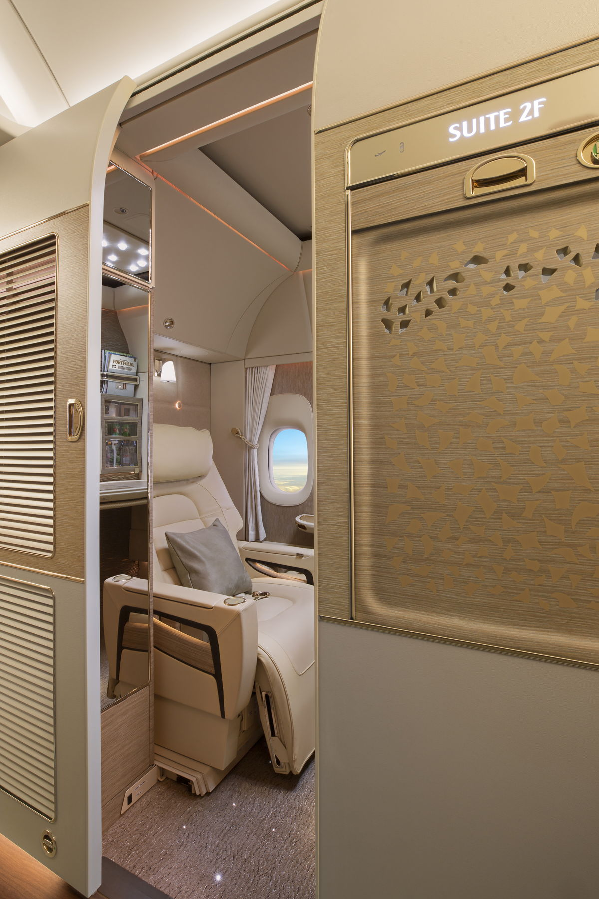 Fully enclosed private suites