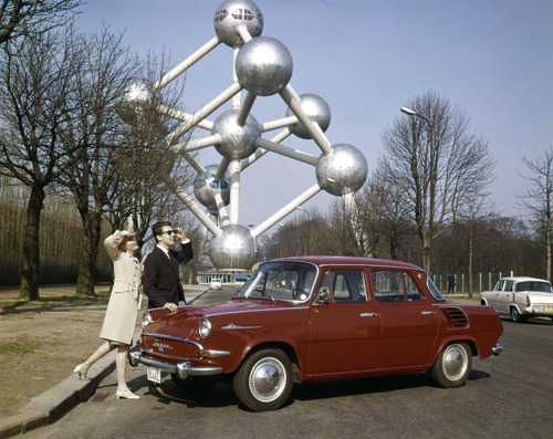 55 years of the ŠKODA 1000 MB: The first Czech mass-produced car celebrates its anniversary