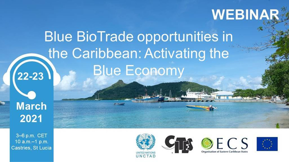 Blue BioTrade Opportunities in the Caribbean: Activating the Blue Economy