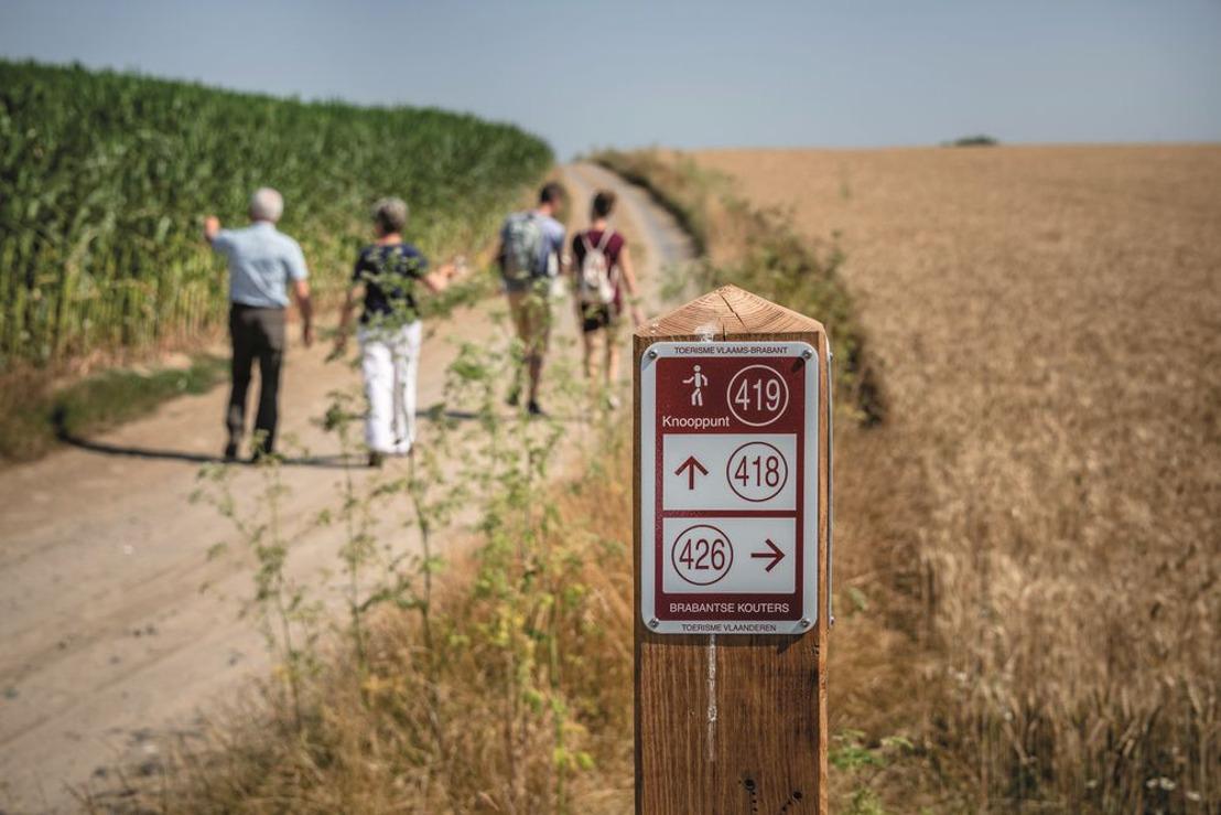 780 km wandelplezier in de Brabantse Kouters met nieuw wandelnetwerk
