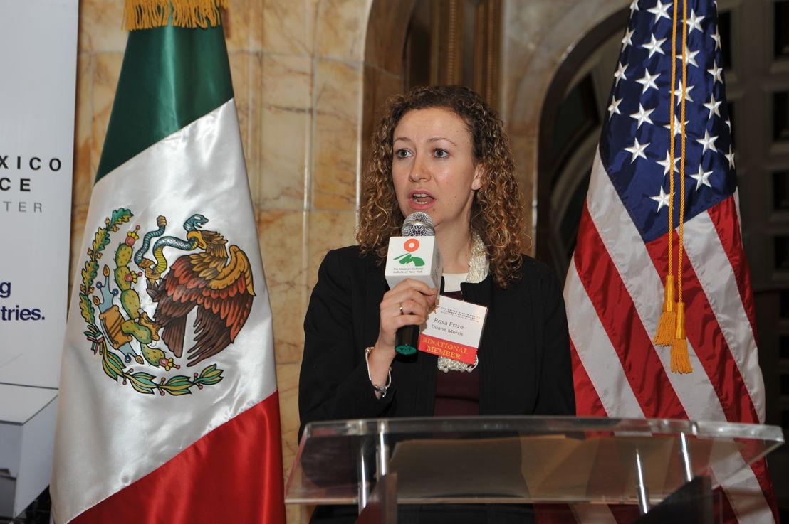 Rosa Ertze,  Consejera Especial del despacho de abogados Duane Morris