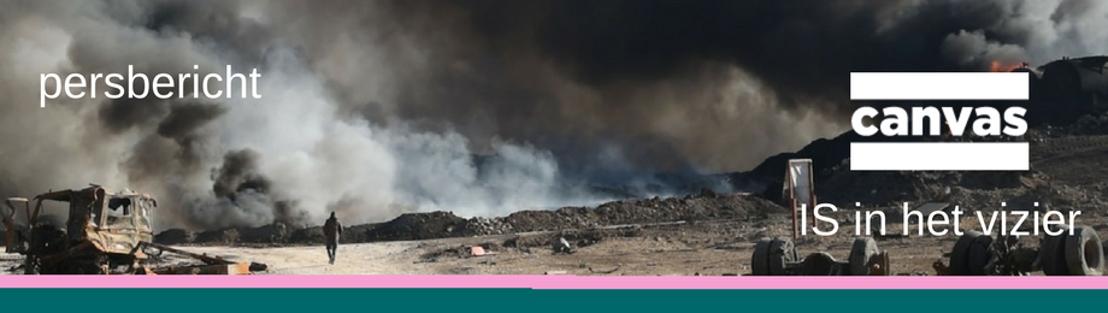 Nieuw op Canvas: IS in het vizier - Met Rudi Vranckx op zoek naar het duistere hart van IS