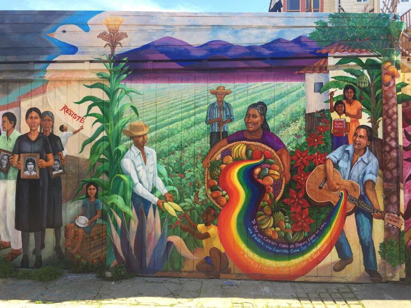 Resist! mural, San Francisco