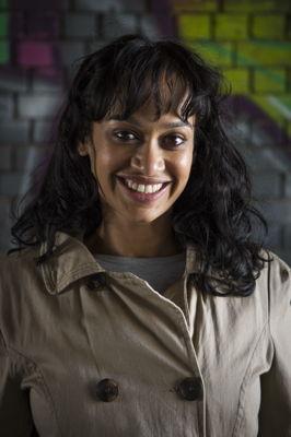 Ameera Patel in Black credit  Jan Potgieter (Stage Focus)