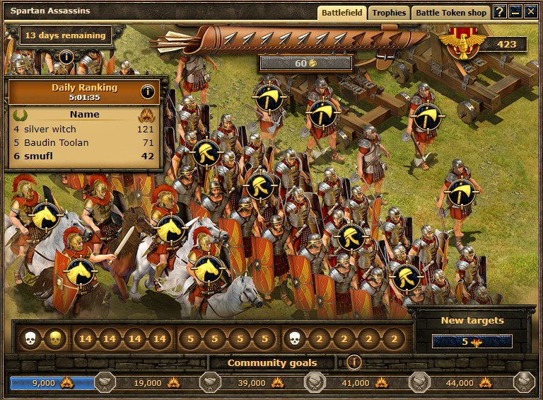 Grepolis Spartan Assassins