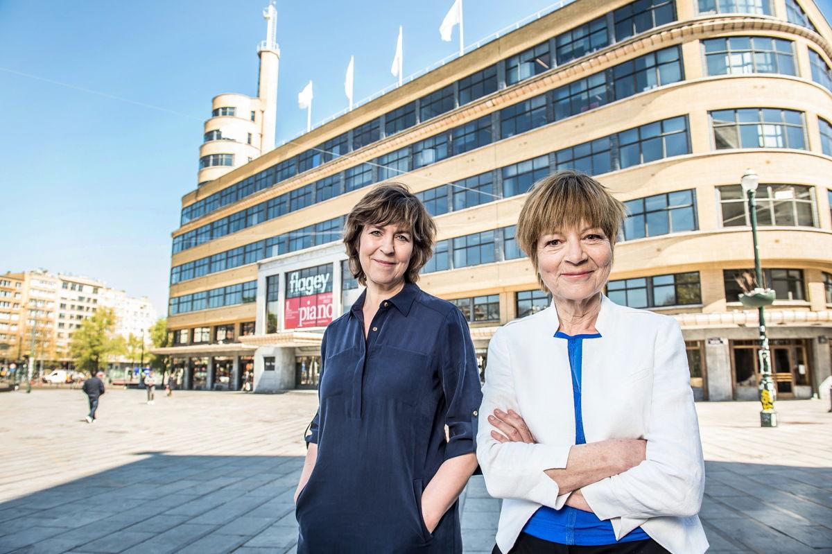 Nicole Van Opstal en Lut Van der Eycken - (c) VRT / Joost Joossen