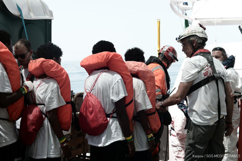 Central Mediterranean: What next for rescued men, women and children trapped between Italian and European politics?