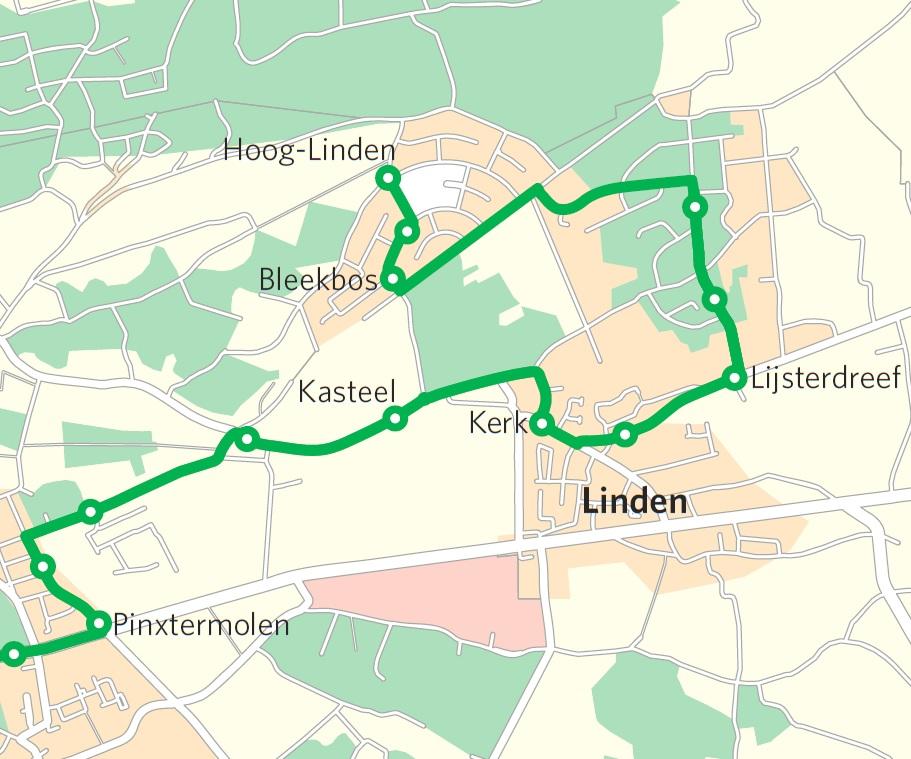Lijn 371 in 2017