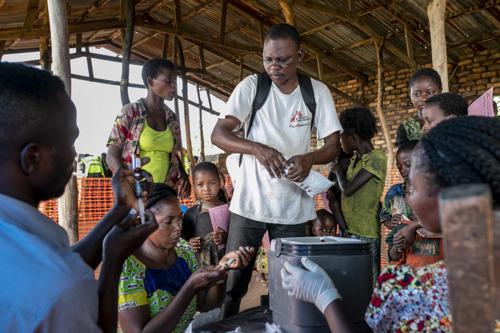 Masern in der Demokratischen Republik Kongo: Ärzte ohne Grenzen/Médecins Sans Frontières (MSF) fordert rasche Hilfe