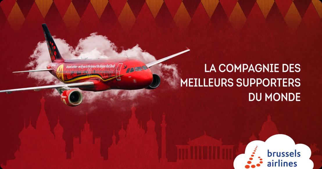 Brussels Airlines emmène les supporters à la Coupe du Monde en Russie