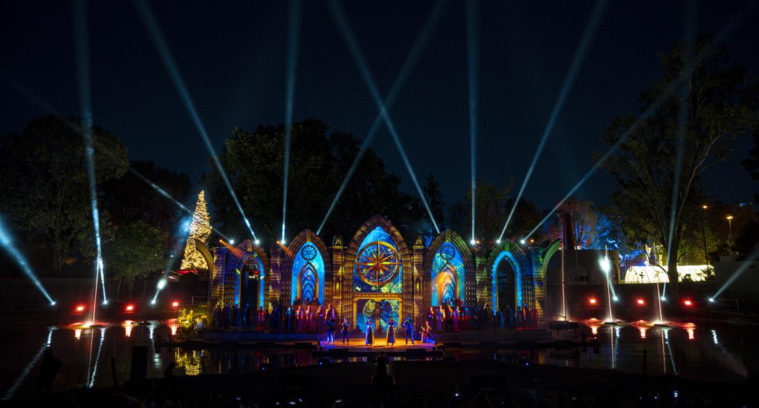 El parque temático Navidalia cobra vida con la creatividad de AlteaCorp y la tecnología de proyección Panasonic