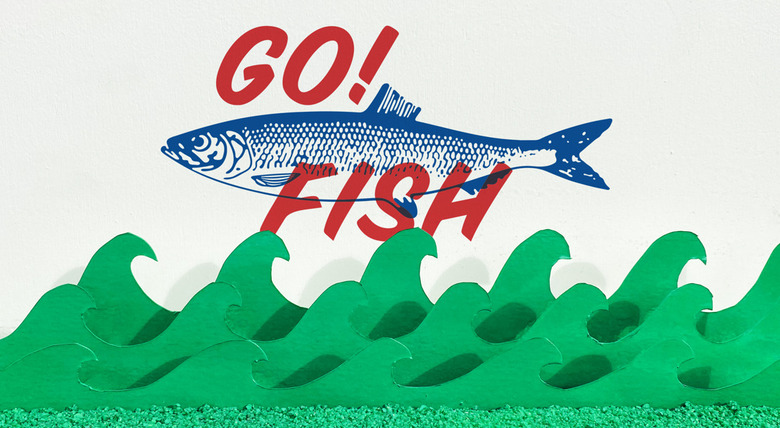Go ! Fish goes to Air !