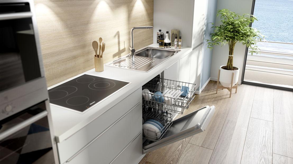"""cuisine """"gain de place"""" èggo 901 lave-vaisselle 45 cm ©èggo"""