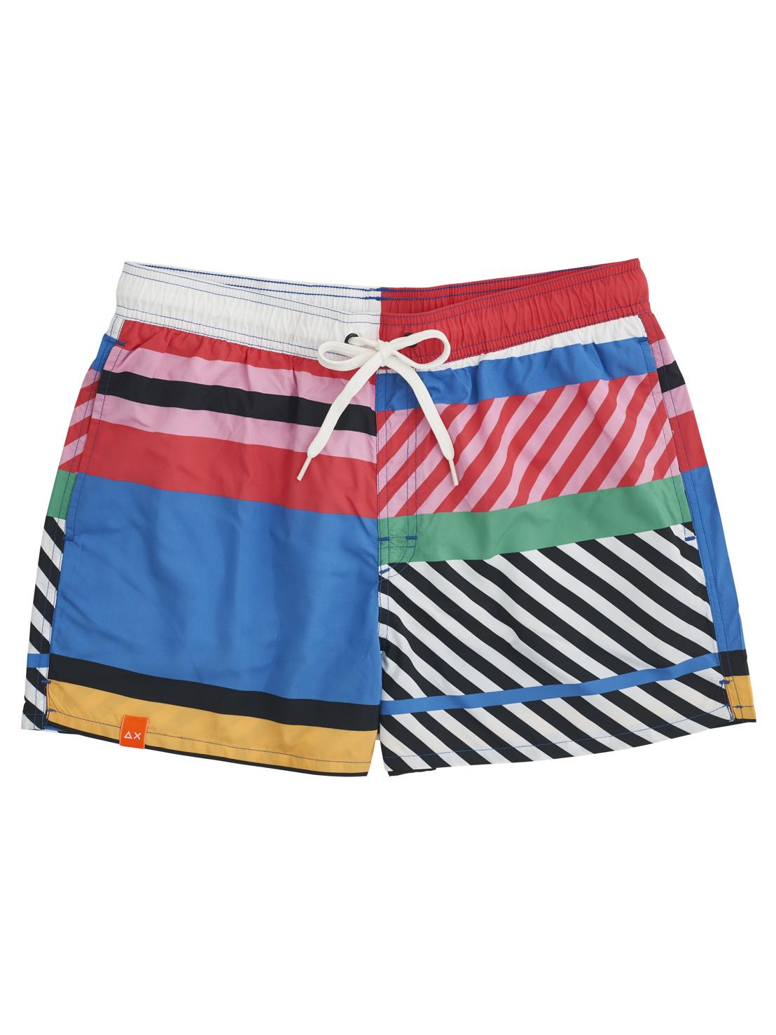 SUN68 SS21 men & boys beachwear| packshots