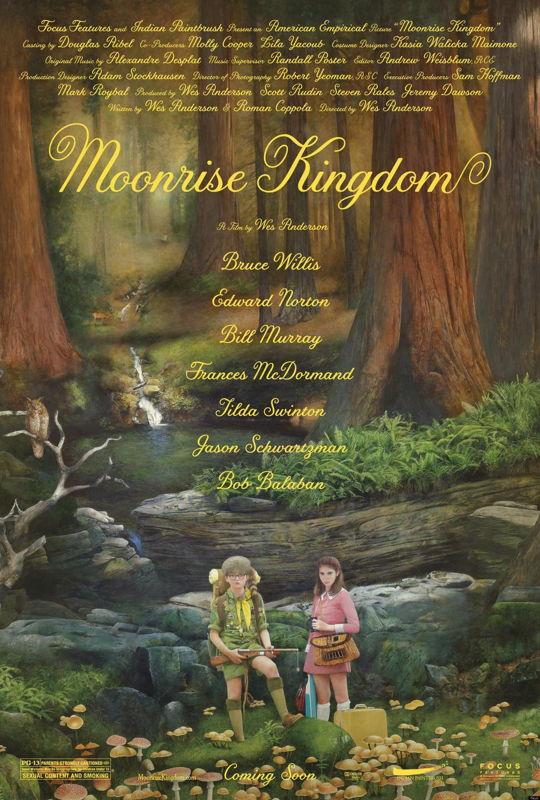 Affiche Moonrise Kingdom - (c) Sony