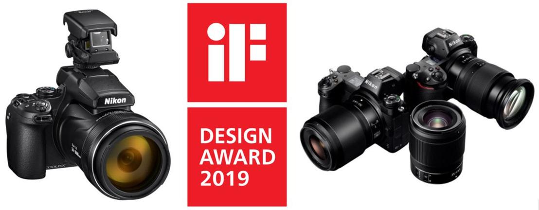 Het spiegelloze camerasysteem en de COOLPIX P1000 van Nikon winnen bij de iF Design Awards 2019