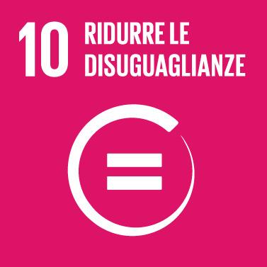 Goal #10: Ridurre l'ineguaglianza all'interno e fra le Nazioni