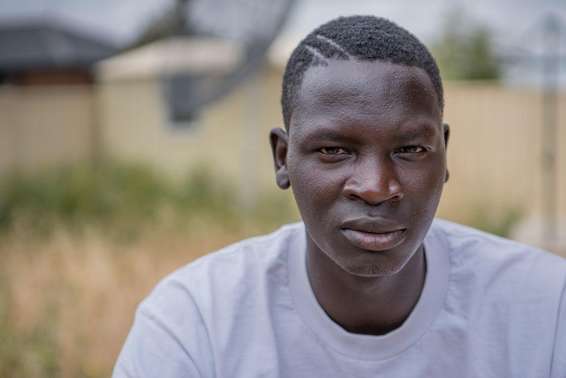 Sudanese hip hop artist Bangs
