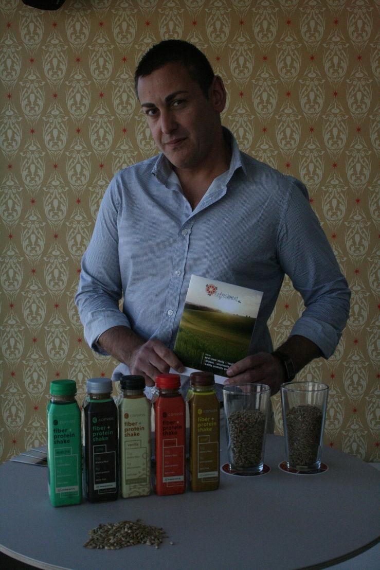 Jorge Gil-Martinez, biochemisch specialist en uitvinder van de technologie in GITeC.