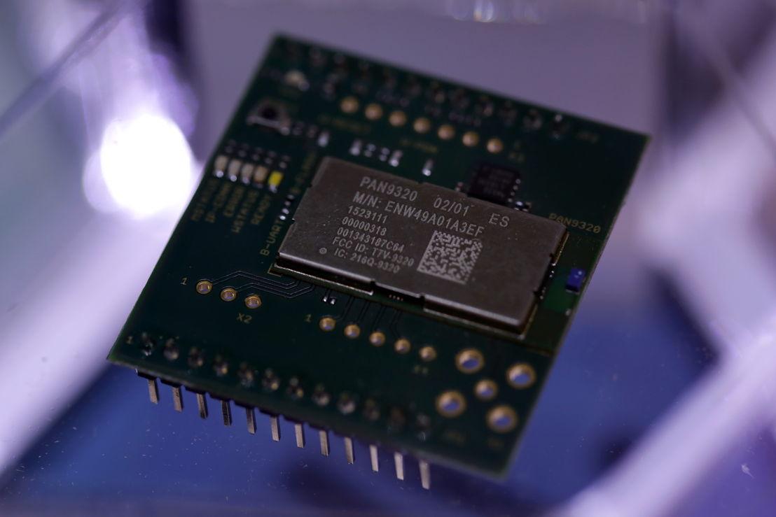 Panasonic es también productor de chips y microcomponentes