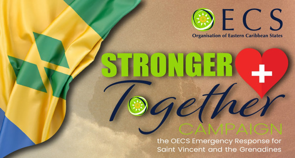 """Preview: OECS Commission Launches """"Stronger Together Campaign"""" to Support Saint Vincent and the Grenadines"""