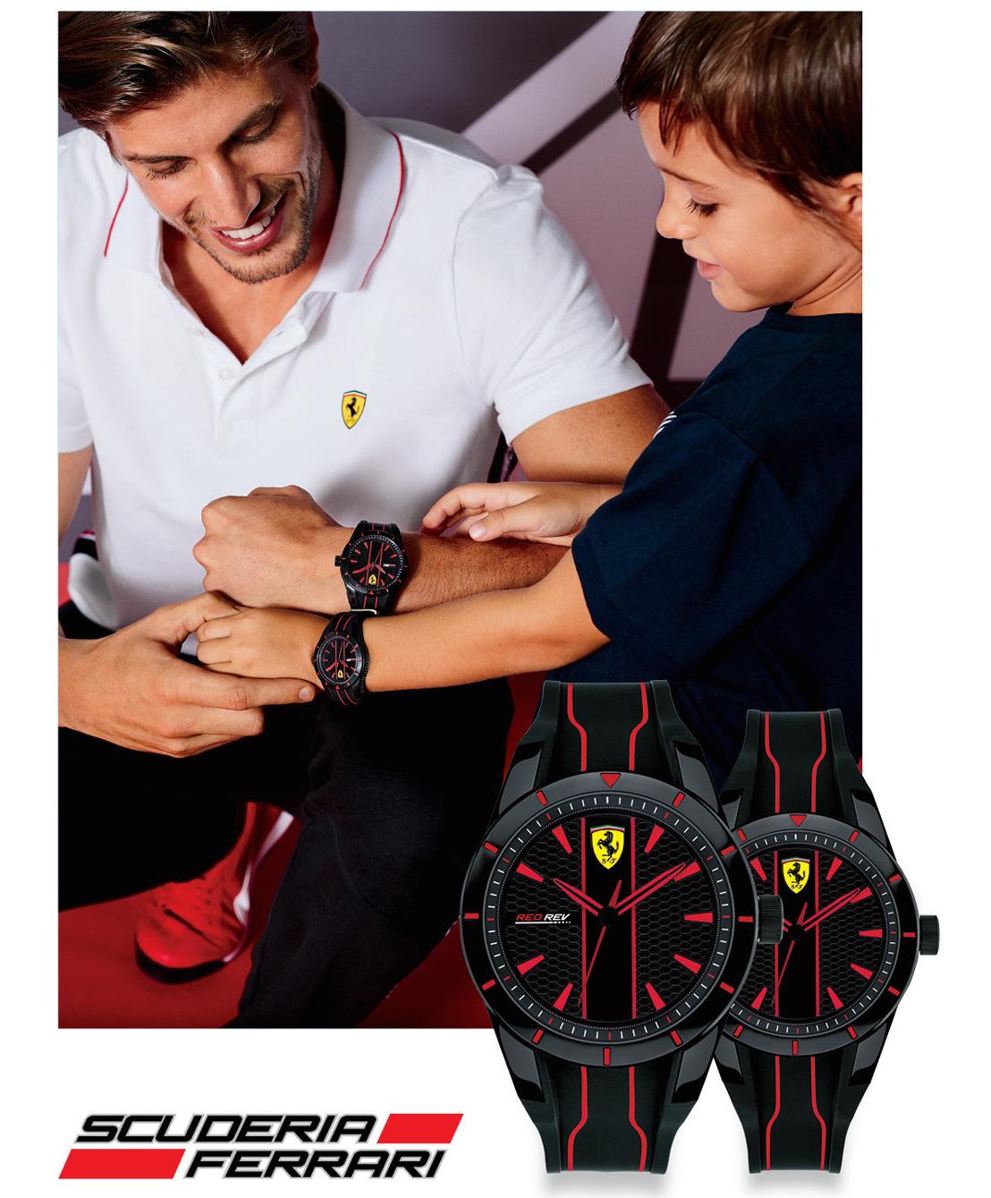 Ferrari: Comparte con papá la pasión por la velocidad