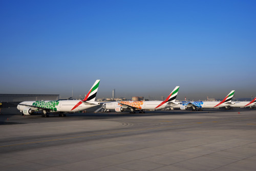 Emirates completes installation of Expo 2020 Dubai livery on 40 aircraft