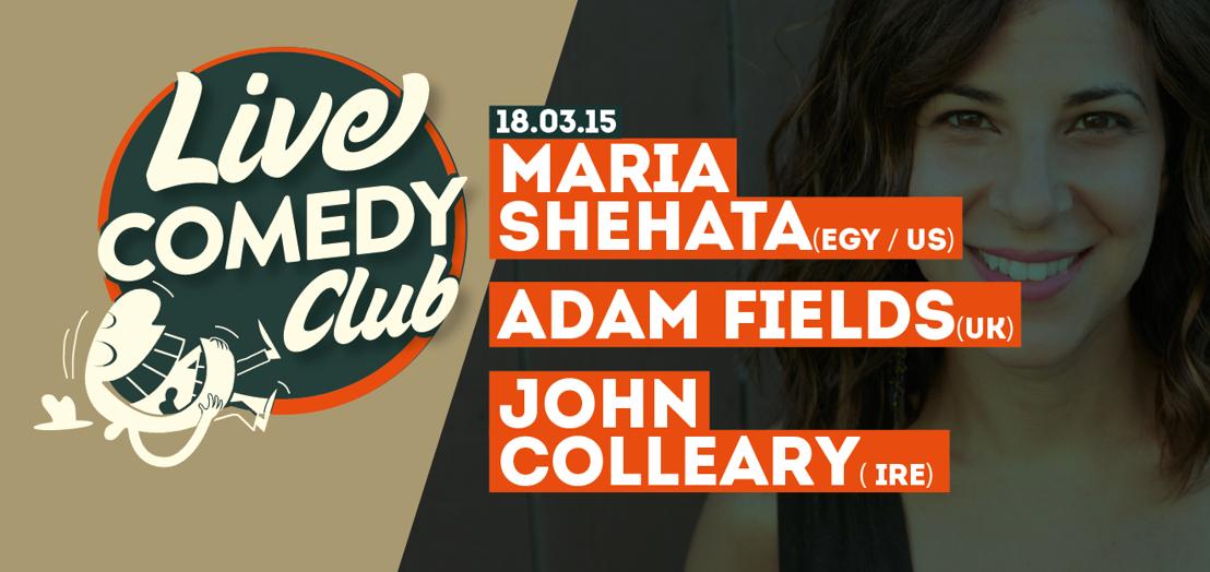 Aftellen naar de eerste Live Comedy Club in Mechelen