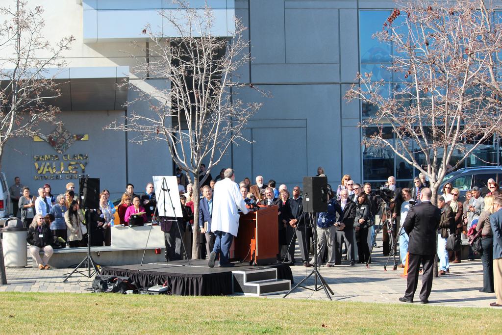 VMC Foundation announces Sobratos' $5 million donation. Photo by PRx Inc.