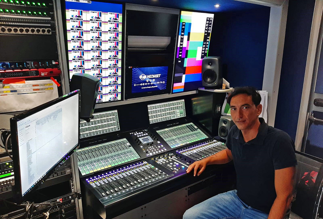 Italy's Mediaset Acquires Several Solid State Logic System T Platforms for its Broadcast Operations