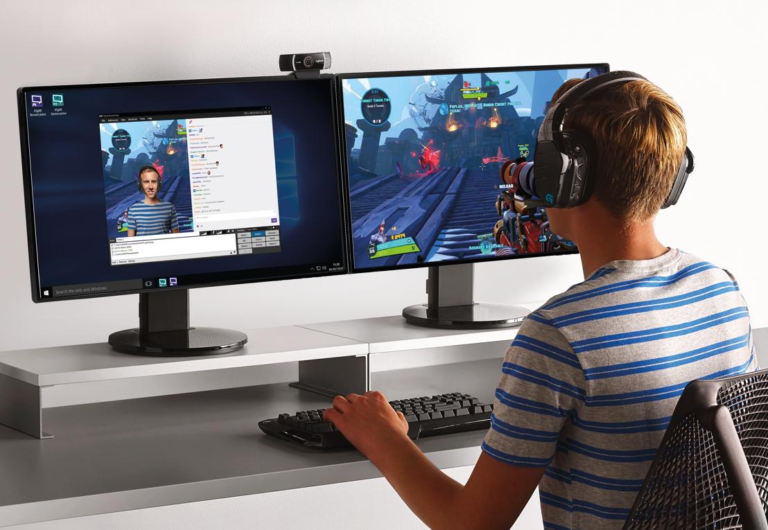 Conviértete en el mejor twitcher o youtuber entre los gamers con la cámara C922 de Logitech®
