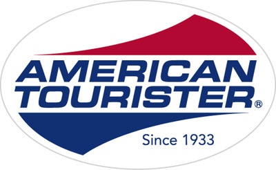 American Tourister press room Logo