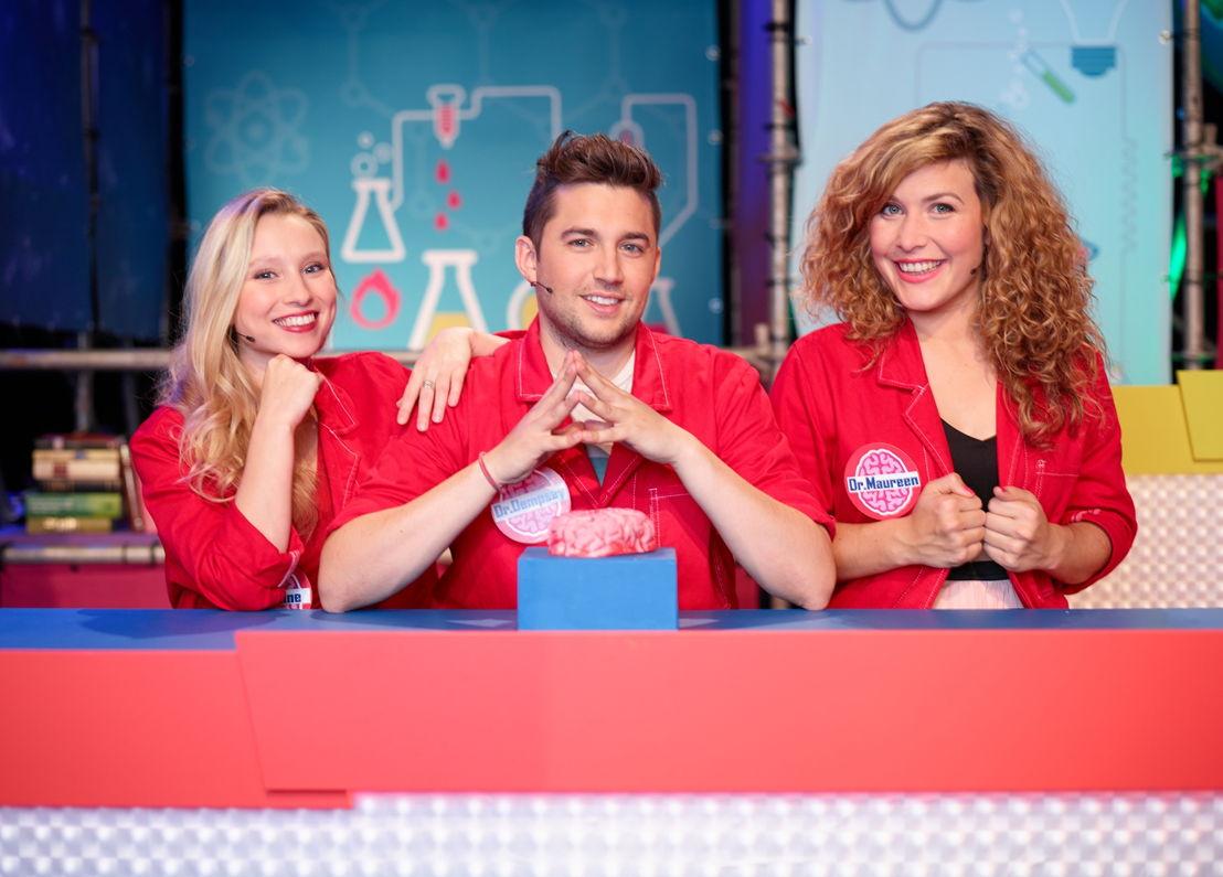 Superbrein: Celine Verbeeck, Dempsey Hendrickx, Maureen Vanherberghen - (c) Polle Van Rooy